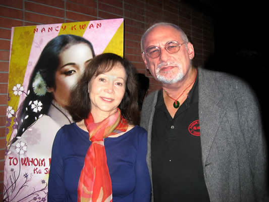Nancy Kwan and Sebastian Gerard